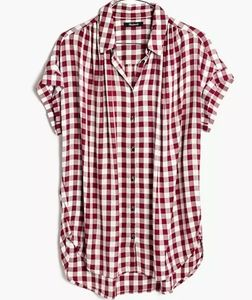 Madewell Central Shirt Gingham Check